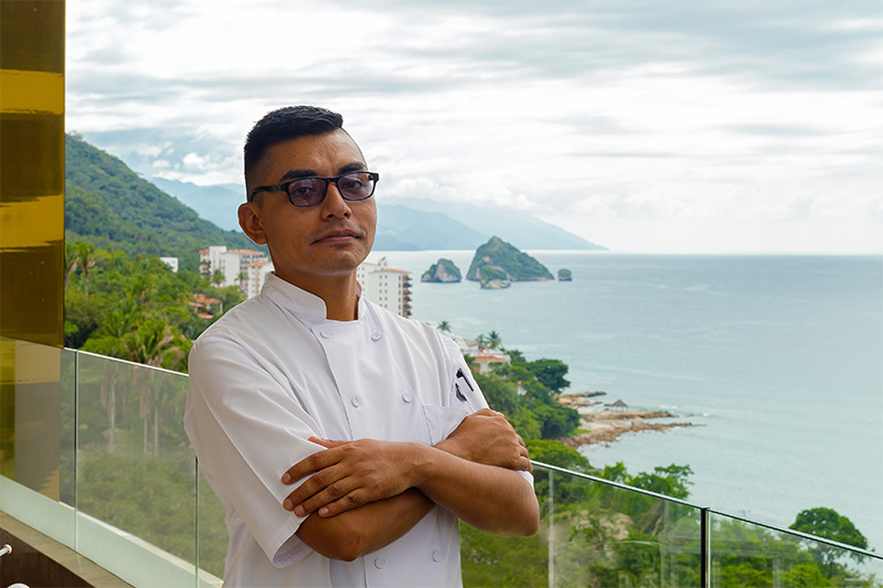 Resident Chef, Jorge Humberto Carrasco
