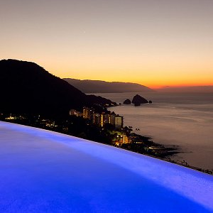 Majestic views of Puerto Vallarta